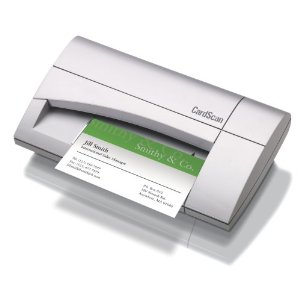 The Penpower WorldCardColor Business Card Scanner