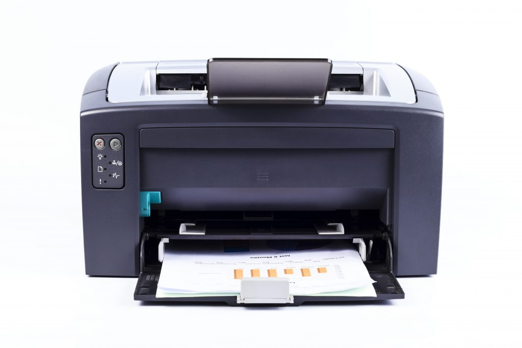 All in one printers allow you to scan print